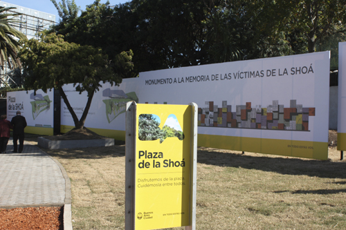 plaza de shoa